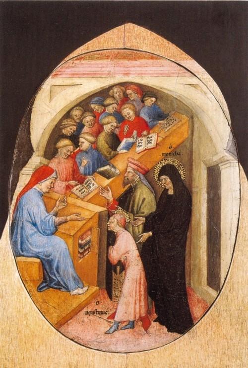 7_Nicolo_di_Pietro._1413-15._The_Saint_Augustine_Taken_to_School_by_Saint_Monica._Pinacoteca_Vatican..jpg