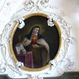Bad_Aussee_Pfarrkirche_-_Frauenkapelle_Fresko_5_Teresa_von_Avila_resize