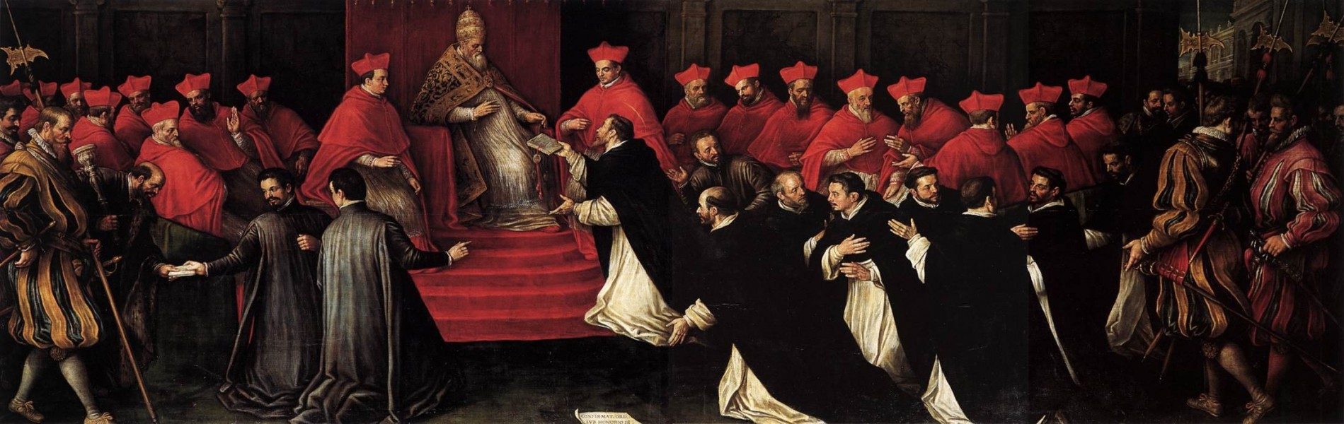 Leandro-Bassano---Honorius-III-Approving-the-Rule-of-St-Dominic-in-1216.jpg