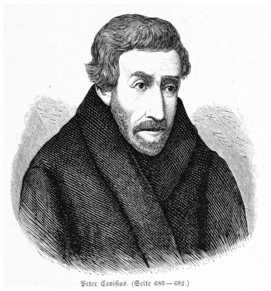 """See page for author [Public domain], <a href=""""https://commons.wikimedia.org/wiki/File:BERMANN(1880)_p0729_Peter_Canisius.jpg"""" target=""""_blank"""">via Wikimedia Commons</a>"""