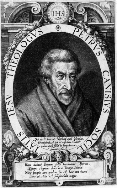"""Dominicus Custos [Public domain], <a href=""""https://commons.wikimedia.org/wiki/File:Petrus_Canisius_1600.jpg"""" target=""""_blank"""">via Wikimedia Commons</a>"""