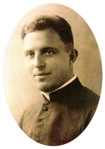 """Blessed Adam Bargielski was a Polish priest and a Martyr. He was born in Kalinowo, Łomża County. He died in the Nazi German Dachau concentration camp. He was beatified by Pope John Paul II and is a member of the 108 Martyrs of World War II  <a href=""""https://commons.wikimedia.org/wiki/File:Ks._Adam_Bargielski.jpg"""" title=""""via Wikimedia Commons"""" target=""""_blank"""">op unknown</a> [Public domain]"""
