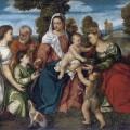 Bonifacio_de_Pitati_-_La_Sacra_Famiglia_con_Dorotea_Giovanni_Battista_Tobia_e_langelo